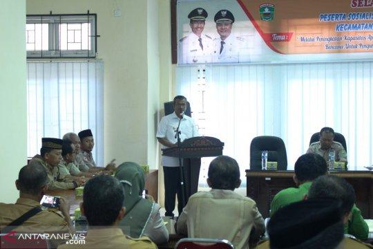 Kapasitas kebencanaan aparatur  kecamatan di Solok-Sumbar ditingkatkan