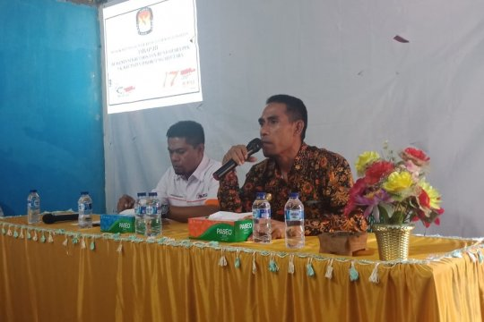 KPU TTU belum terima surat suara untuk Pemilu DPD