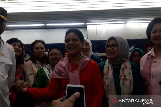 Ibu Negara apresiasi kenyamanan MRTJ