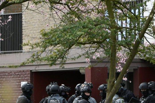Sejumlah orang terluka dalam penembakan di Utrecht