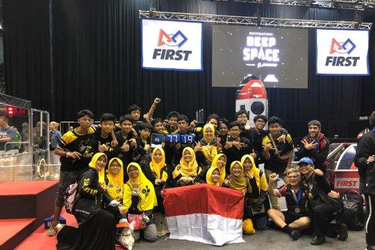 Madrasah Technotura melaju ke kompetisi robot di AS