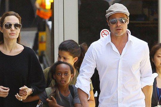 Brad Pitt mulai frustasi dengan kasus perceraian