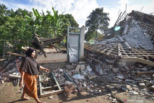 Rumah rusak akibat gempa NTB capai 4.589 unit