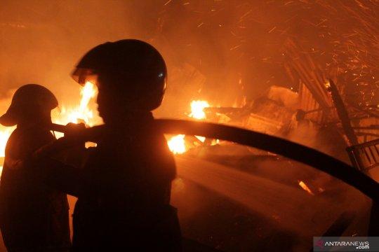 Kebakaran pasar Legi Jombang