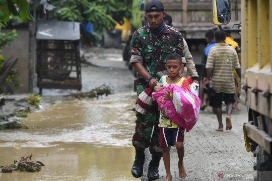 Pemkab Mimika buka posko bantuan bencana Sentani