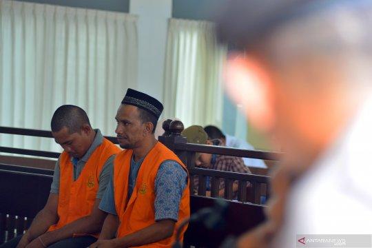 Vonis mati terdakwa penyelundup narkoba jenis sabu di Aceh