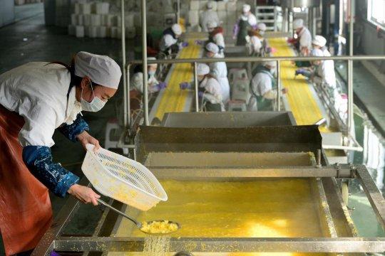 Pendapatan industri makanan dan minuman China catat rekor tertinggi