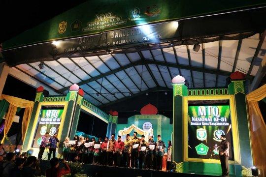 Juara umum MTQ Kota Banjarmasin diraih Banjarmasin Tengah