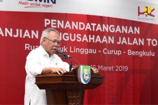 Menteri PUPR sebut Tol Lubuk Linggau-Curup-Bengkulu dorong pertumbuhan