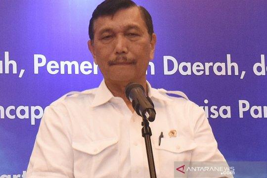 Luhut: Abrasi Riau tak pengaruhi perbatasan wilayah dengan Malaysia