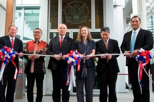 Gedung baru Kedutaan Amerika di Jakarta resmi dibuka