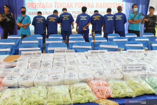 BNN amankan 20 kilogram sabu dari jaringan Malaysia