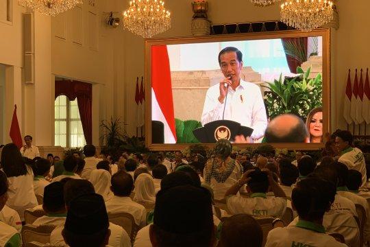 Presiden sebut Indonesia sedang berproses menuju ketahanan pangan