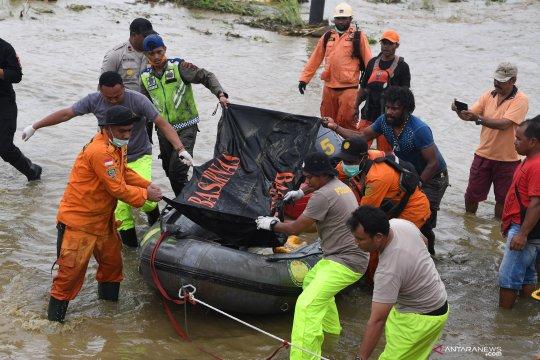 Korban meninggal di Jayapura jadi 104 orang