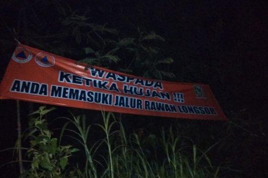 BPBD Banjarnegara ingatkan pengendara waspadai jalur rawan longsor