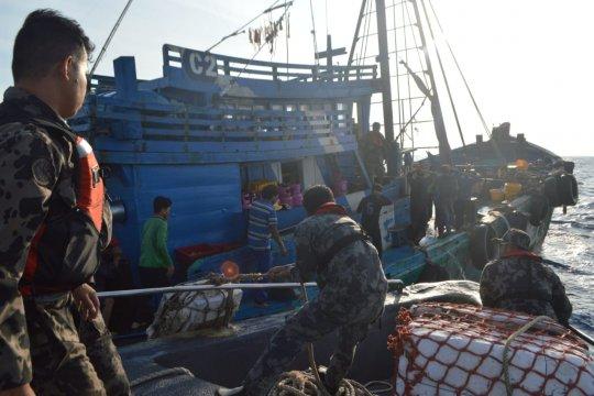 Tidak dikasih kendor, KKP tangkap 20 kapal ikan ilegal hingga pertengahan Maret