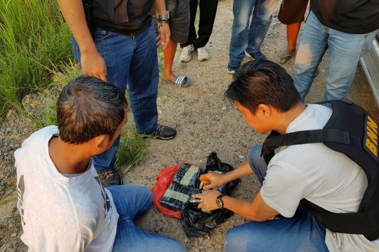 BNN tangkap enam pelaku jaringan narkoba Malaysia