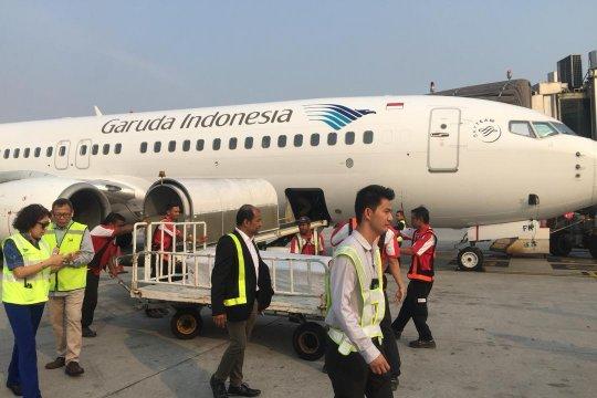Garuda serahkan jenazah gempa Lombok ke Menteri Transportasi Malaysia