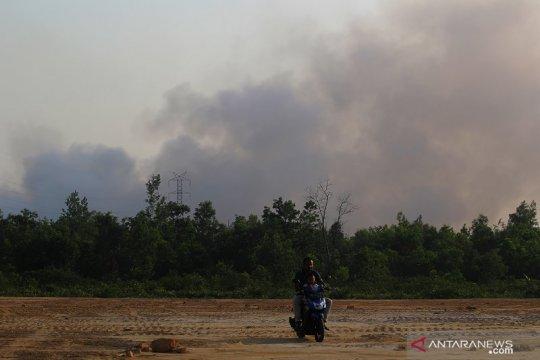 Tiga daerah di Sumut terdampak asap Karhutlah Riau