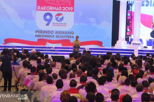 Presiden Jokowi: Perindo punya keunggulan di udara