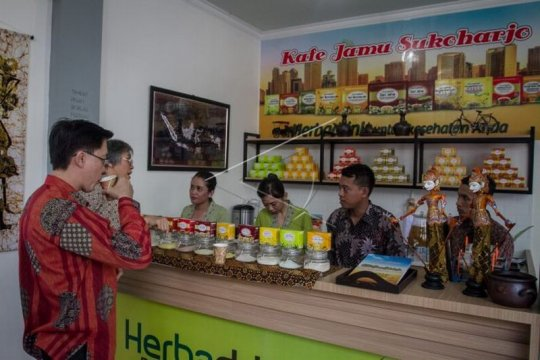 Jamu dan obat tradisional Indonesia dipamerkan di Gansu