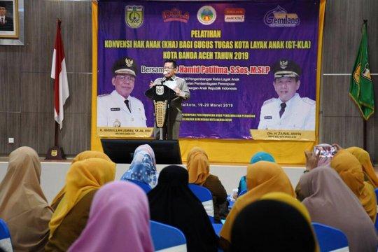Banda Aceh bertekad jadi kota ramah anak
