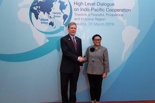 AS dukung sentralitas ASEAN kembangkan kerja sama Indo-Pasifik