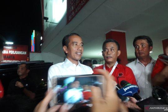 Jokowi arahkan caleg PDIP ajak masyarakat tidak golput