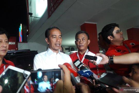 Jokowi gunakan survei elektabilitas sebagai bahan evaluasi