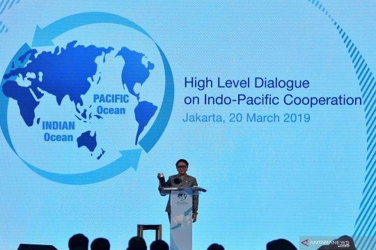 Menlu: kerja sama konkret Indo-Pasifik selaras visi poros maritim