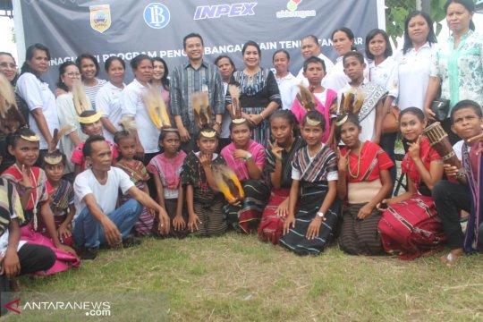 BI Maluku-Jepang berdayakan penenun Kepulauan Tanimbar-Maluku