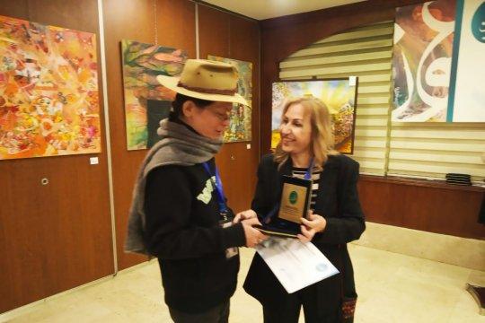 Seniman Indonesia terima penghargaan di Yordania