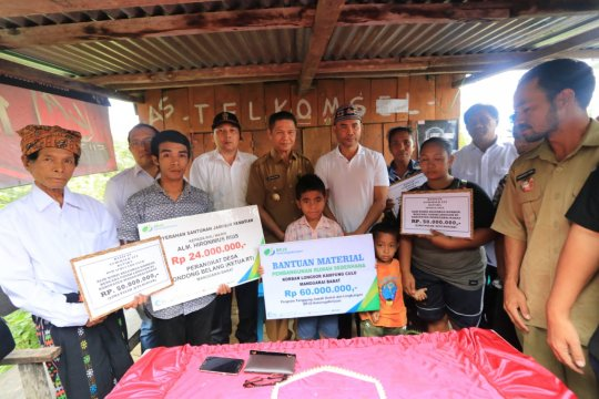Keluarga korban bencana yang meninggal dapat bantuan Rp50 juta