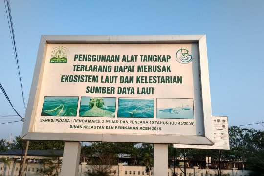 Dinas Kelautan ajak nelayan Aceh jaga ekosistem laut dan perairan