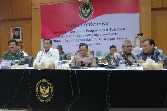593.812 Personel TNI-Polri siap amankan Pemilu 2019