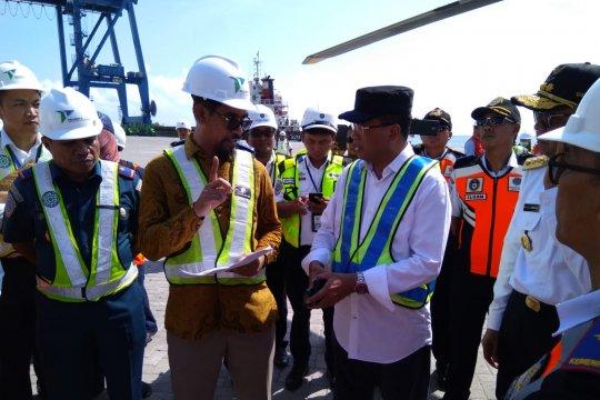 Menhub: kapasitas MNP sama Pelabuhan Surabaya