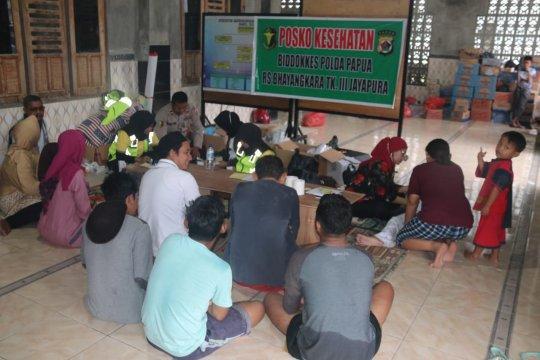 RS Bhayangkara Papua gelar baksos kesehatan bagi korban banjir