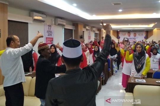 Komunitas ustazah Aceh deklarasikan dukungan kepada Jokowi