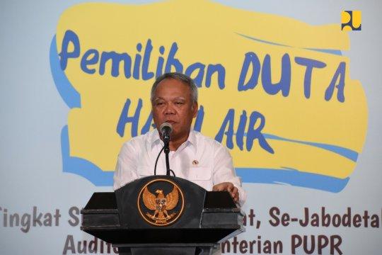 Menteri PUPR ajak milenial jaga sumber air Nusantara