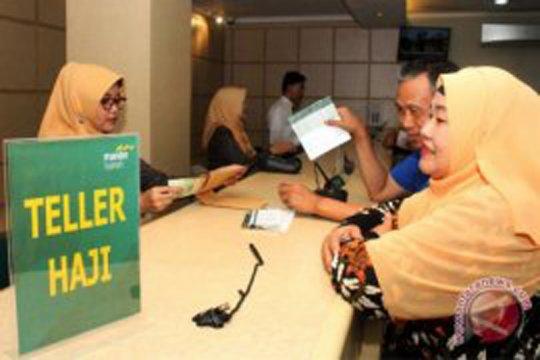 Antrean pelunasan biaya haji di Palembang masih sepi