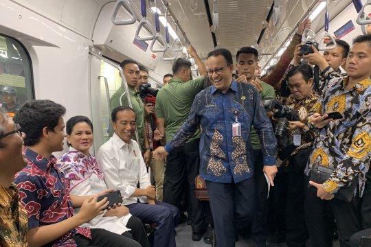 Jokowi terima komplain soal MRT dari penyandang disabilitas