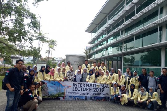 Ini kegiatan 45 mahasiswa pascasarjana di Malaysia
