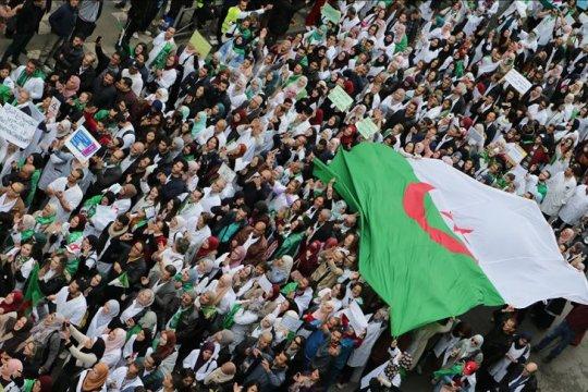 Pengunjuk rasa Aljazair terus tekan Bouteflika