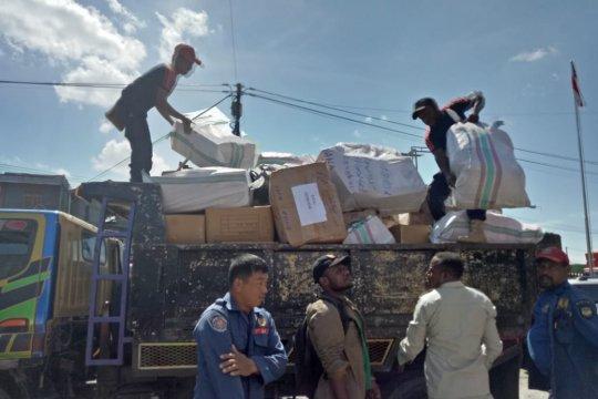 8 ton bantuan akan dikirim  Pemkab Mimika untuk korban banjir di Jayapura