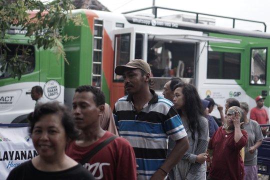 Humanity Food Truck ACT jangkau korban banjir Bantul