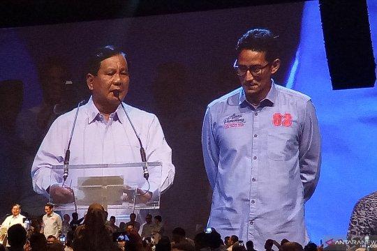Prabowo unggul dua juta suara di Sumatera Barat