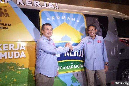 Erwin Aksa klaim HIPMI dukung Prabowo-Sandiaga