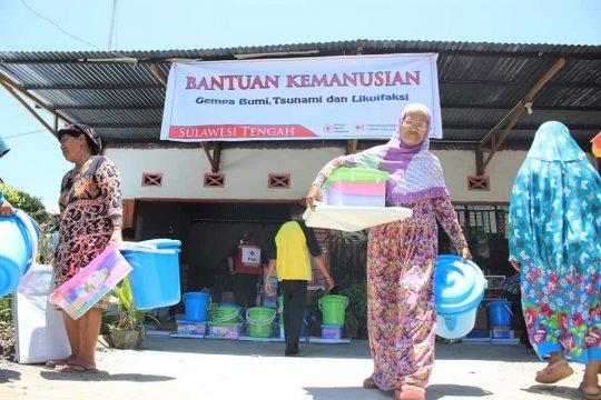 PMI distribusikan paket bantuan untuk korban gempa Sulteng