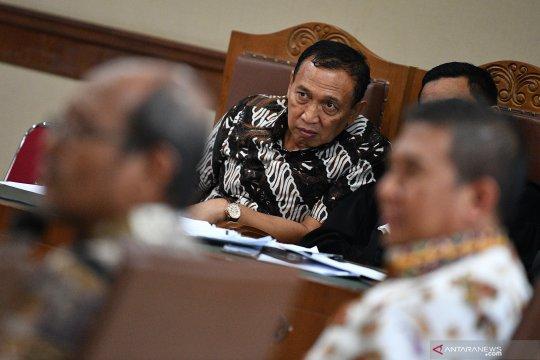 Saksi: Rp1,5 miliar didaftarkan untuk Menpora dari Sekjen KONI