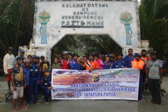 Bantuan kembali disalurkan untuk korban banjir Papua